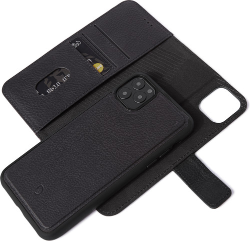 Decoded 2-in-1 Apple iPhone 11 Pro Max Book Case Leer Zwart Main Image