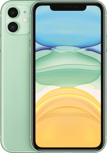 Apple iPhone 11 128 GB Groen Main Image