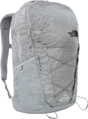 "The North Face Cryptic 15"" TNF Medium Grey Heather/Black 23L Main Image"