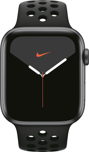 Apple Watch Nike Series 5 44mm Space Gray Aluminium / Zwarte Sportband Main Image