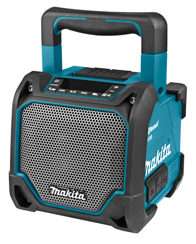 Makita DMR202 Bluetooth speaker met Mediaspeler Main Image