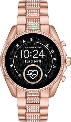 Michael Kors Access Bradshaw Gen 5 MKT5089 - Rose Gold with Diamonds Main Image