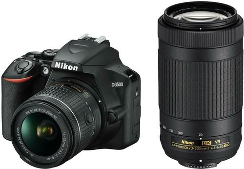 Nikon D3500 + AF-P DX 18-55mm f/3.5-5.6G VR + AF-P DX 70-300mm f/4.5-6.3G ED VR Main Image