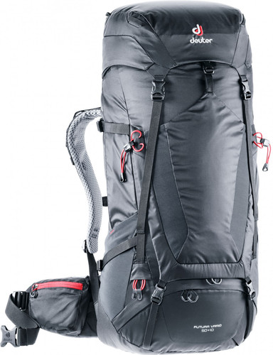 Deuter Futura Vario 50 + 10 Graphite/Black Main Image
