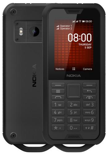Nokia 800 Tough Zwart Main Image