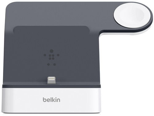 Belkin PowerHouse Docking Station iPhone + Apple Watch Wit Main Image