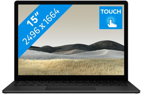 "Microsoft Surface Laptop 3 15"" 8 GB - 256 GB Black Main Image"