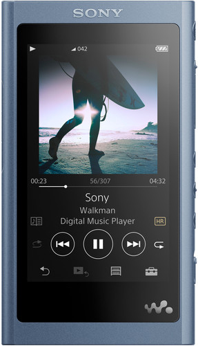 Sony NW-A55L Blauw Main Image
