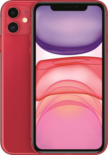 Apple iPhone 11 64 GB RED Main Image