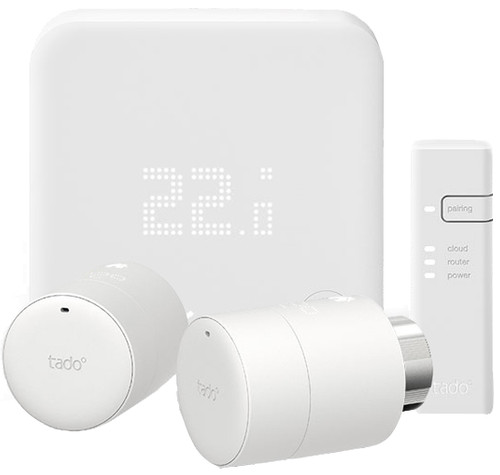 Tado Slimme Thermostaat V3+ startpakket + 2 radiatorknoppen Main Image