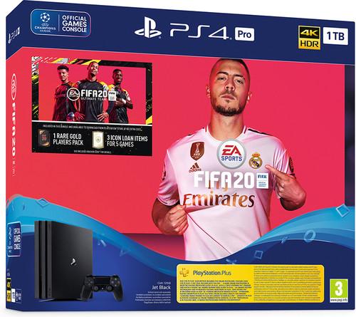 Sony PlayStation 4 Pro 1 TB + FIFA 20/ PS+ 14 dagen Main Image