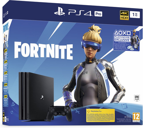 Sony PlayStation 4 Pro 1 TB Fortnite Bundel Main Image