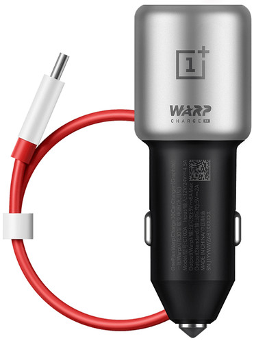 OnePlus Warp Charge 30 Car Charger with Cable 1 USB-C 30W Black Main Image