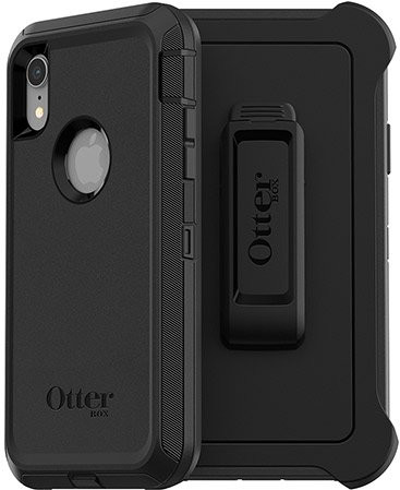 Otterbox Defender Apple iPhone Xr Back Cover Black Main Image