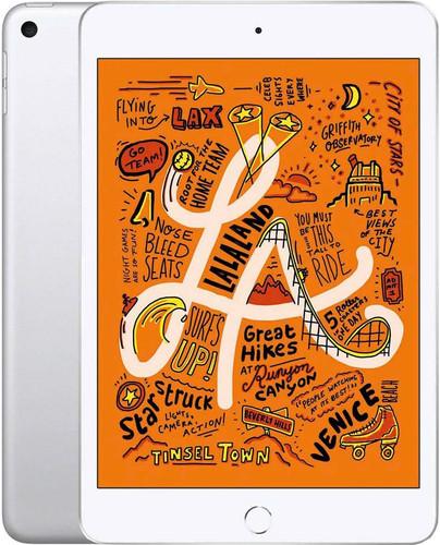 Apple iPad Mini 5 Wifi + 4G 64GB Zilver Main Image