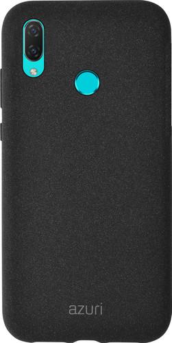 Azuri Flexible Sand Huawei P Smart (2019) Back Cover Black Main Image