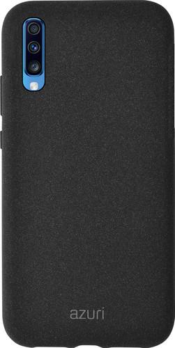 Azuri Flexible Sand Samsung Galaxy A70 Back Cover Black Main Image