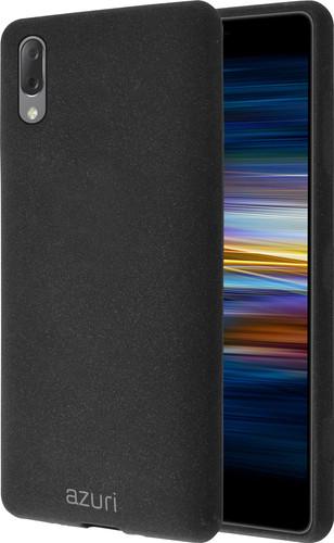 Azuri Flexible Sand Sony Xperia L3 Back Cover Black Main Image