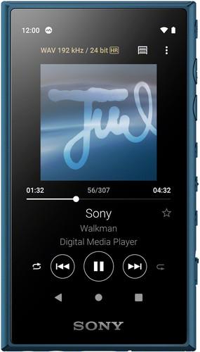 Sony NW-A105 Blauw Main Image