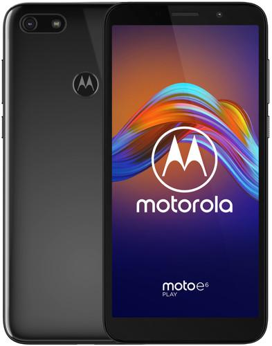 Motorola Moto E6 Play Zwart Main Image