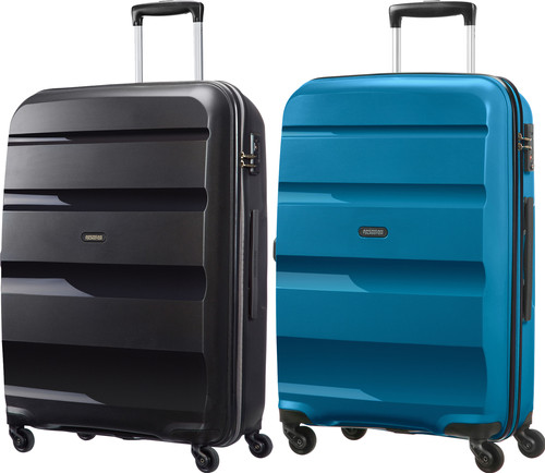 American Tourister Bon Air Spinner 75cm Black + 75cm Seaport Suitcase Set Main Image