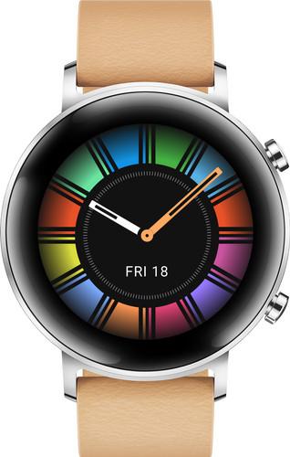 Huawei Watch GT 2 RVS Zilver 42mm Main Image