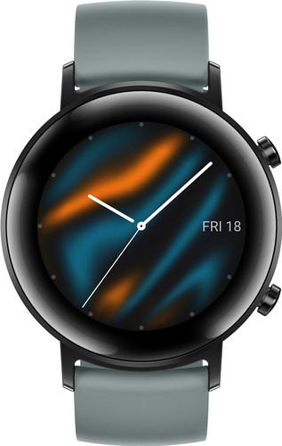 Huawei Watch GT 2 RVS Zwart/Cyan 42mm Main Image