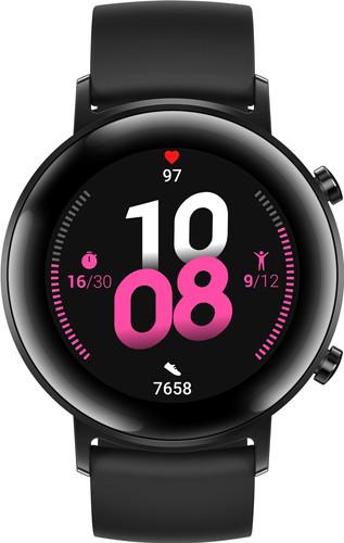Huawei Watch GT 2 RVS Zwart 42mm Main Image