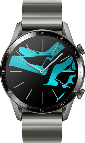 Huawei Watch GT 2 RVS Grijs 46mm Main Image