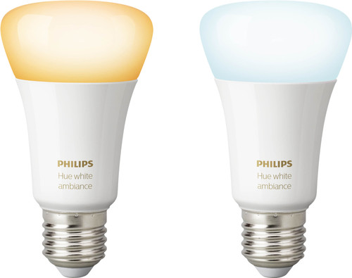 Philips Hue White Ambiance E27 Duo Pack Bluetooth Main Image