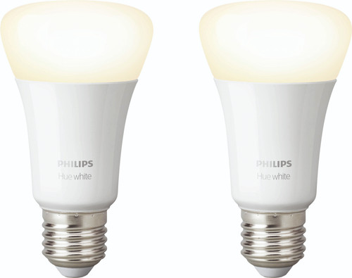 Philips Hue White E27 Duo Pack Bluetooth Main Image