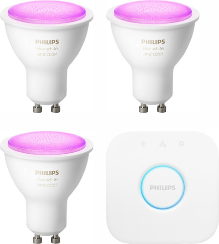Philips Hue White & Colour Starter Pack GU10 Main Image