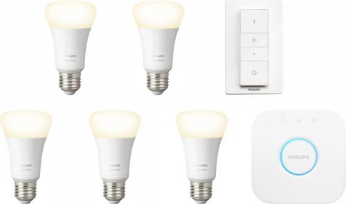 Philips Hue White Starter Pack E27 - 5 lampen Main Image