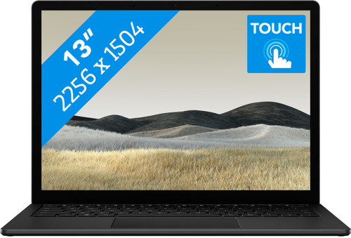 "Microsoft Surface Laptop 3 13"" i5 - 8 GB - 256 GB Black Main Image"
