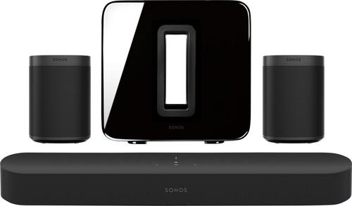 Sonos Beam 5.1  + One SL (2x) + Sub Main Image