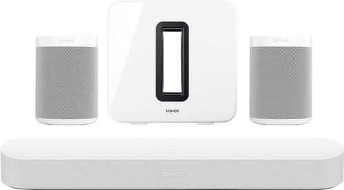 Sonos Beam 5.1  + One SL (2x) + Sub Wit Main Image