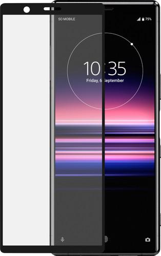 Azuri Rinox Sony Xperia 5 Screenprotector Glas Zwart Main Image