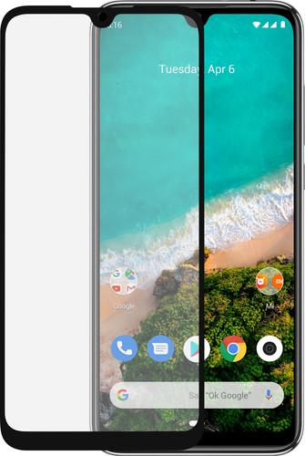 Azuri Rinox Xiaomi Mi A3 Screenprotector Glas Zwart Main Image