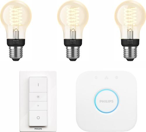 Philips Hue Filamentlamp White Standaard E27 Bluetooth Starter Pack Main Image