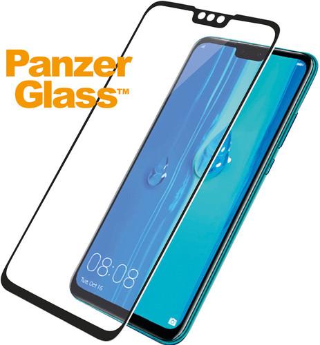 PanzerGlass Huawei Y9 (2019) Screenprotector Glas Zwart Main Image