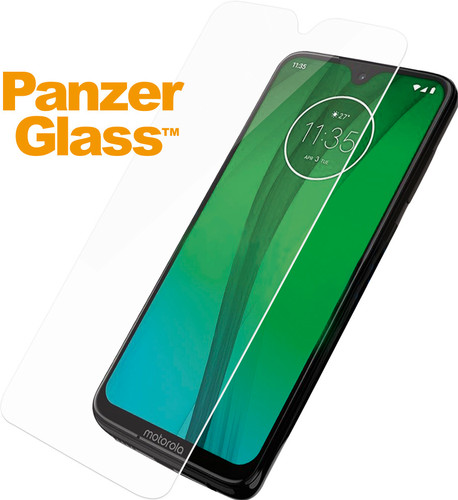 PanzerGlass Motorola Moto G7 (Plus) Screenprotector Glas Main Image