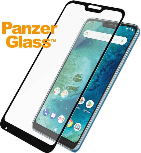 PanzerGlass Xiaomi Mi A2 Lite (Redmi 6 Pro) Screenprotector Glas Zwart Main Image