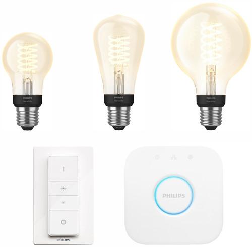 Philips Hue Filamentlamp White E27 Bluetooth Starter Pack Main Image