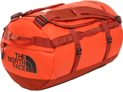 The North Face Base Camp Duffel M Acrylc Orange/Picante Red Main Image