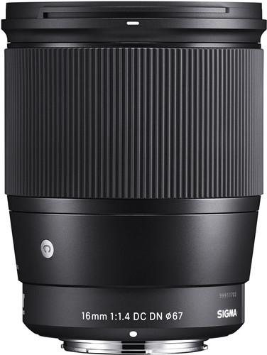 Sigma 16mm f/1.4 DC DN Contemporary Canon EF-M Main Image