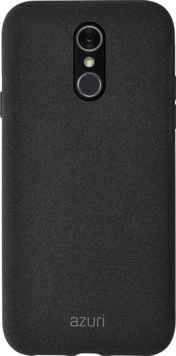 Azuri Flexible Sand LG Q7 (2018) Back Cover Black Main Image