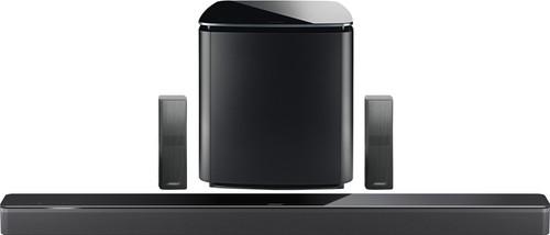 Bose Soundbar 700 5.1 + Bose Surround 700 Speakers Zwart + Bose Bass Module 700 Zwart Main Image