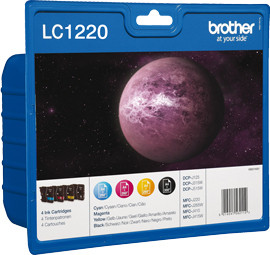 Brother LC-1220VALBP 4-Kleuren Pack Main Image