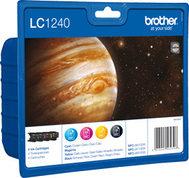 Brother LC-1240VALBP 4-Color Pack Main Image