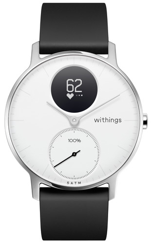 Withings Steel HR Zilver/Wit 36 mm Main Image